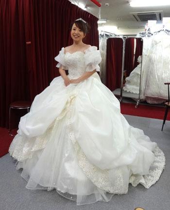 ウェディングドレスショップアトリエアンのブログ ドレスはオパール